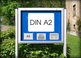 Kirchen-Schaukasten Plakat DIN A2