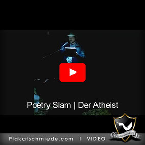 Der Atheist, Poetry Slam, MännerCamp, Free-at-heart, Atheismus, Glaube