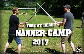 Schwertkampf, Fechten, MännerCamp, Free at Heart