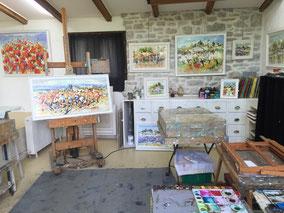 Atelier de Claude Nicaud, Brousses les Antibel