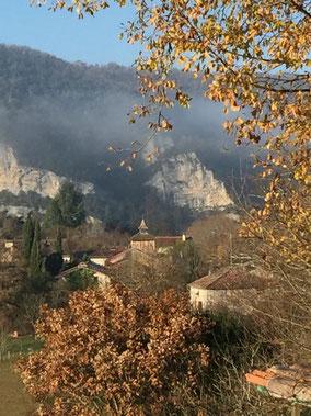 Hameau de Brousses les Antibel, Gorges de l'Aveyron