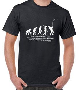 tee-shirt marrant pecheur