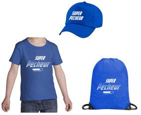 teeshirt bleu pecheur