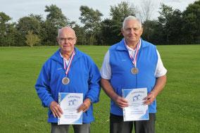 3. Platz - Hannes Petersen und Manfred Habenicht