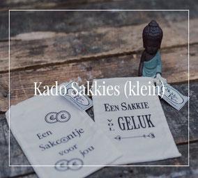 Sakkies klein van Sakkie Kado, origineel cadeau, Zuid-Afrika, verjaardagscadeau, Feestdagen