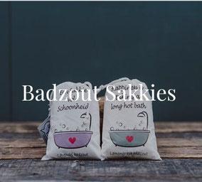 Badzout van Sakkie Kado, origineel cadeau, Zuid-Afrika, verjaardagscadeau, Feestdagen