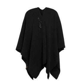 Zwarte omslagvest Jazz, Knit Factory