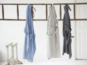 """Schort ML Fabrics """"Victor"""" blauwe jeans, Stoer, Sober, Industrieel, Puur, Robuust, Grof, Landelijk wonen, Sfeervol, Geleefd, Stijlvol, Doorleefd, landelijke stijl, landelijke decoratie"""