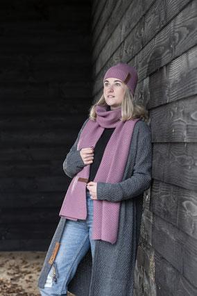 Sjaal Jazz (verschillende kleuren), Knit Factory