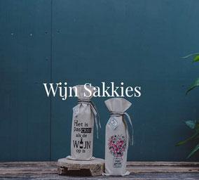 Wijnzakken van Sakkie Kado, origineel cadeau, Zuid-Afrika, verjaardagscadeau, Feestdagen