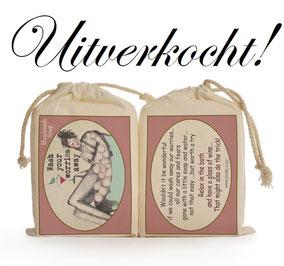 Zeep girly wash your worries van Sakkie Kado, origineel cadeau, Zuid-Afrika, verjaardagscadeau, feestdagen
