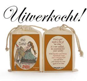Zeep girly me time van Sakkie Kado, origineel cadeau, Zuid-Afrika, verjaardagscadeau, feestdagen
