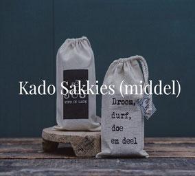 Sakkies middelgroot van Sakkie Kado, origineel cadeau, Zuid-Afrika, verjaardagscadeau, Feestdagen