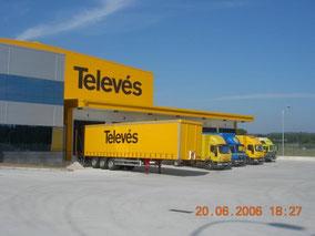 Centro Logístico Televés, Oroso