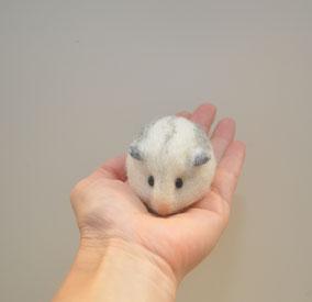 Hamster aus Filz, Abbild Hamster, Hamster nadelgefilzt, gefilzter Hamster, filzen, Filztiere, Filzhamster, Sonderanfertigung Hamster, Hamster Wolle, Wollhamster, Zwerghamster