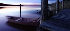 Blick vom Pfänder auf den Bodensee...