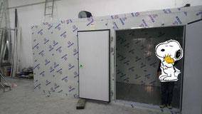 興建本地啤酒廠工程, 食品工場出牌 cold storage chamber hk