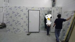 興建本地啤酒廠工程, 食品工場出牌 cold storage installation in a local brewery for local food production licence hk