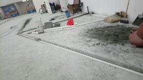 興建本地啤酒廠工程, 食品工場出牌 chiselling trenches/ drainage/ nullahs in a local brewery for food factory licence application in HK