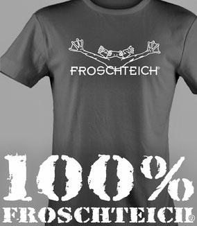 Froschteich ist zurück. Neue T-Shirts.