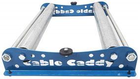 Kabelabwickler Cable Caddy 510, blau