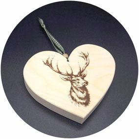 Geschenke aus Holz für Jäger und Jägerin, Geschenkideen für Jäger und zur Jagd