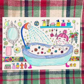 お風呂タイム🛁