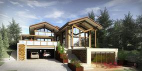 Maison en bois massif - Haute Savoie (74)