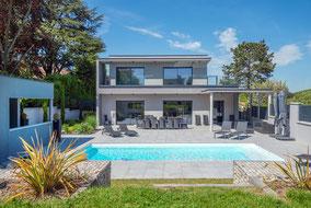 Maison contemporaine à Caluire (69)