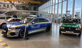 Oldtimerverleih Ausstellung Polizeifahrzeuge