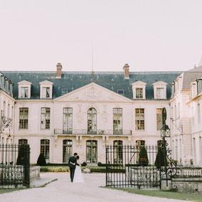 свадьба в замке Франция
