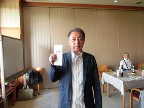 準優勝の吉田敏信さん