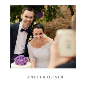 als Fotograf auf Schloss Scharfenberg dabei zur Hochzeit von Anett und Oliver - Dirk Brzoska