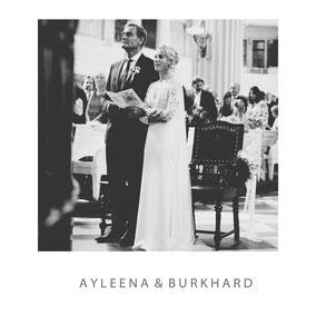 als Fotograf in der Nikolaikirche Leipzig dabei zur Hochzeit von Ayleena und Burkhard - Hochzeitsfotograf Dirk Brzoska aus Leipzig