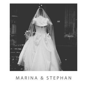 Hochzeit von Marina und Stephan in der Thomaskirche Leipzig - Fotograf Dirk Brzoska aus Leipzig www.dirk-brzoska.de