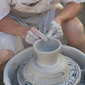 Man at potters wheel by VisualsSpeak