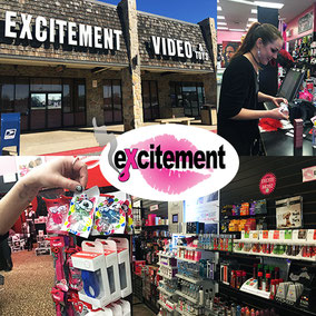 Excitement stocks everything from lube, to toys great for solo and couples play,  to more extreme BDSM gear.