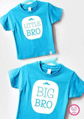 tolle Geschwister T-Shirts - nähfein