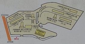 説明版の墓地略図
