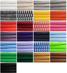 Textilkabel bunt Meterware