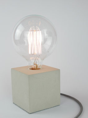 Designlampe Cube Buchenbusch