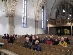 Innenansichte der Kirche