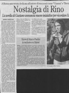 Il Secolo D'Italia, 2002