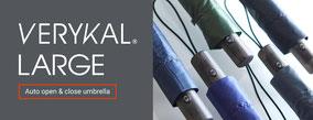 世界最軽量級自動開閉傘 VERYKAL LARGE