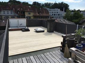 Terrassenboden Accoya - Terrassenboden Bern und Thun