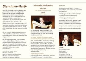 Michaela Brinkmeier Sterntaler-Harfe Märchen erzählen und Harfe