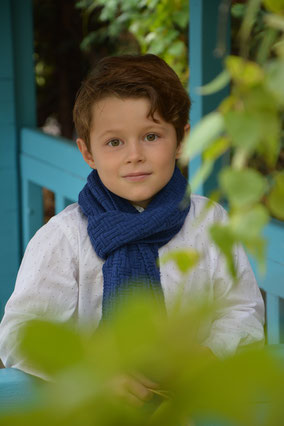echarpe laine douce enfant made in france