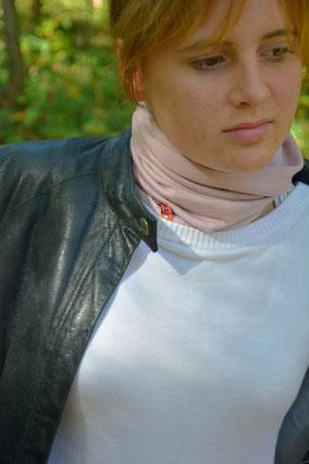tour de cou swan femme 100% LAINE fabricant français