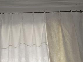Rideau abat jour couture d 39 ameublement rideaux stores - Comment faire des rideaux a plis francais ...