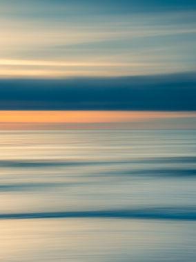 Ostsee, Baltic Sea, Fotokunst, abstract, seascape, abstrakt, Meer, sunset, Sonnenuntergang, Kunst, Strand, beach, Art, Fotografie, photography, wall art, Holger Nimtz, impressionistisch, Impressionismus, Wandbild, malerisch, verwischt,
